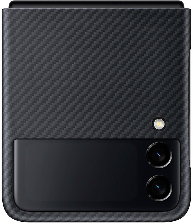 Чехол Samsung Aramid Cover для Galaxy Z Flip3 черный