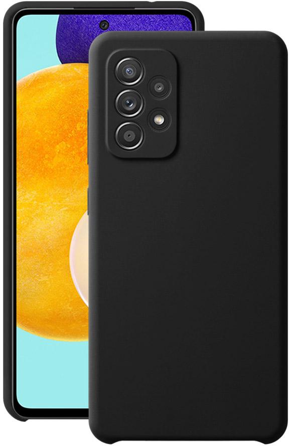 Чехол Deppa Liquid Silicone для Galaxy A52 черный