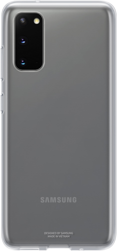 Clear Cover Galaxy S20 прозрачный