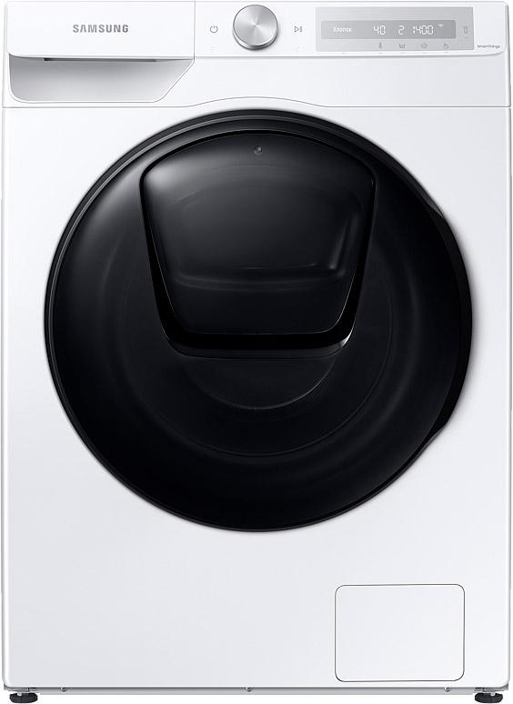 Стиральная машина Samsung WD10T654CBH/LP с cушкой и AddWash, 10+7 кг белый