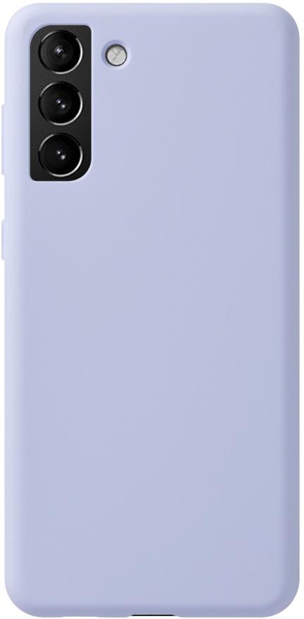 Чехол Deppa Liquid Silicone Pro для Galaxy S21+ лаванда