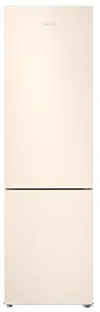 Холодильник Samsung RB37A5001EL/WT с нижней морозильной камерой SpaceMax, 367 л бежевый