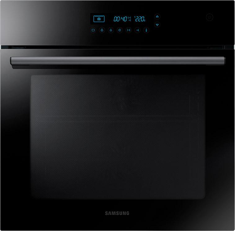 Духовой шкаф Samsung с Dual Fan с сенсорной панелью, 68 л черный