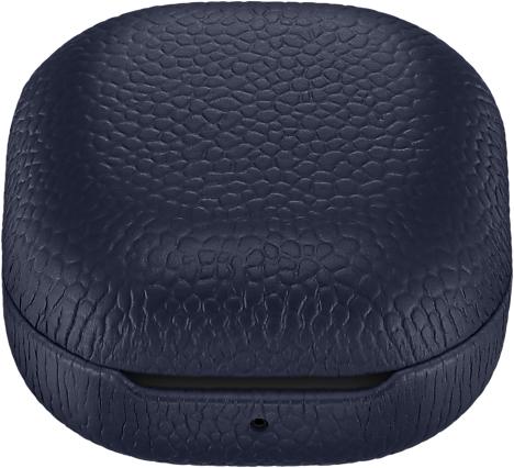 Чехол Samsung Leather Cover для Galaxy Buds Pro\Live темно-синий