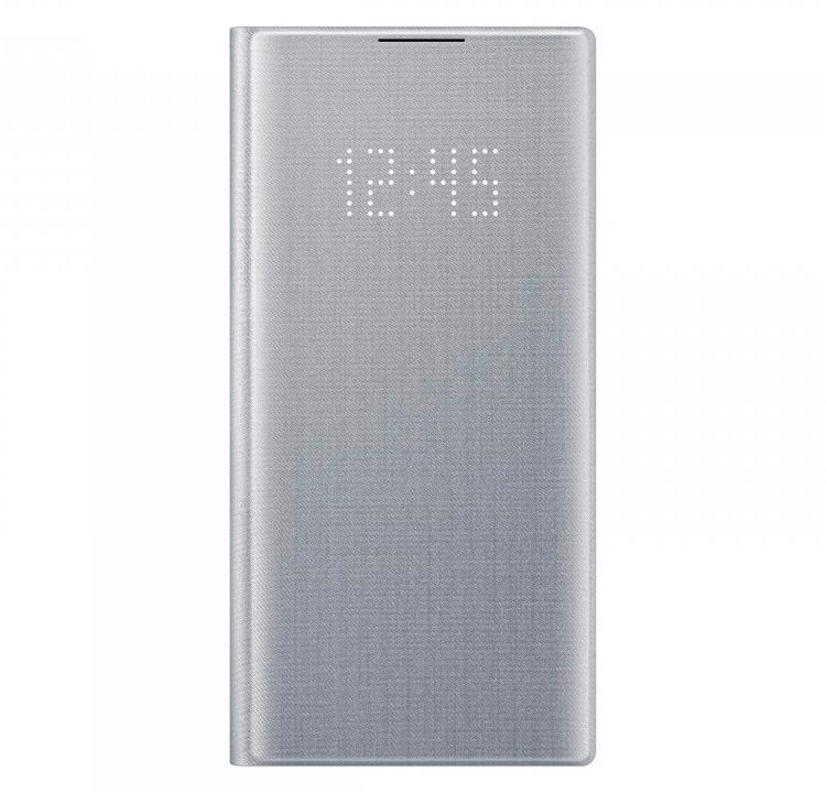 Картинка - LED View Cover для Galaxy Note10 серебристый