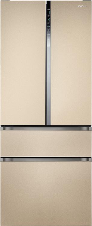 Холодильник Samsung RF5500K с двухконтурной системой охлаждения, 461 л золотой