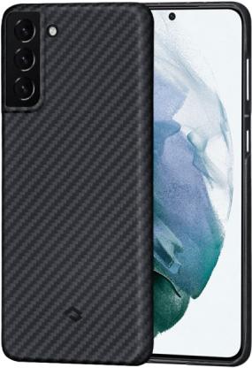 Картинка - MagEZ Case для Galaxy S21+ черно-серый