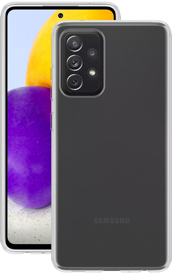 Картинка - Gel для Galaxy A72 прозрачный