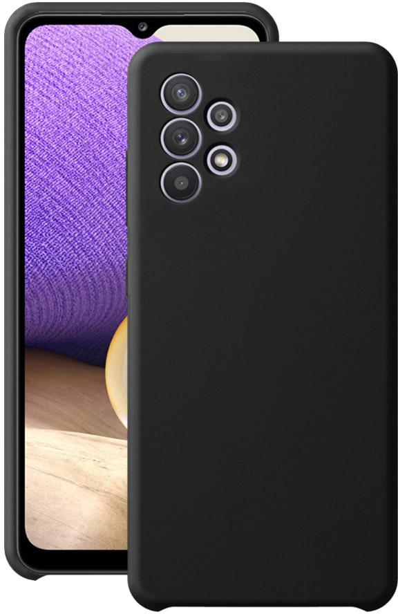 Чехол Deppa Liquid Silicone для Galaxy A32 черный