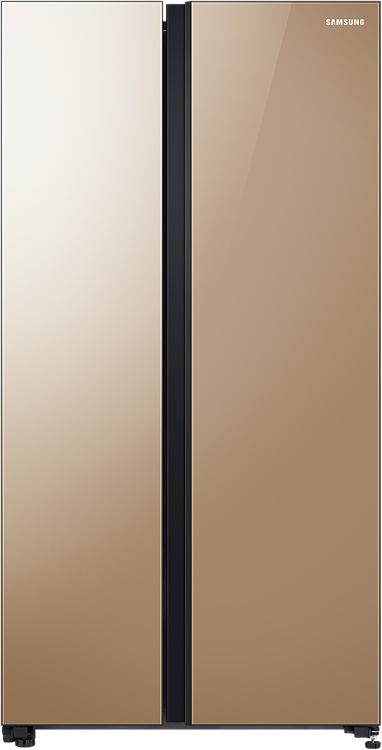 Холодильник Samsung RS62R50314G/WT с панелью Metal Cooling , 647 л