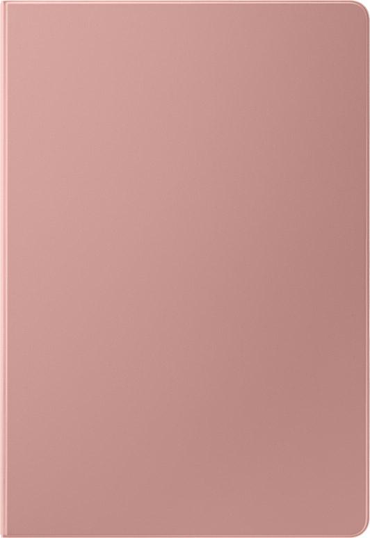 Чехол-книжка Samsung Book Cover для Galaxy Tab S7+|S7 FE розовое золото