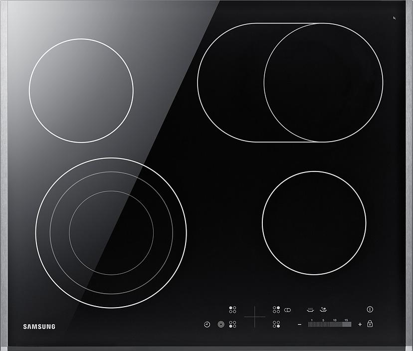 Электрическая варочная поверхность Samsung NZ64T3536DK/WT черный