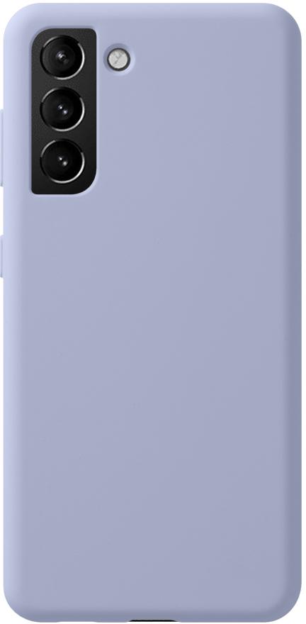 Чехол Deppa Liquid Silicone Pro для Galaxy S21 лаванда