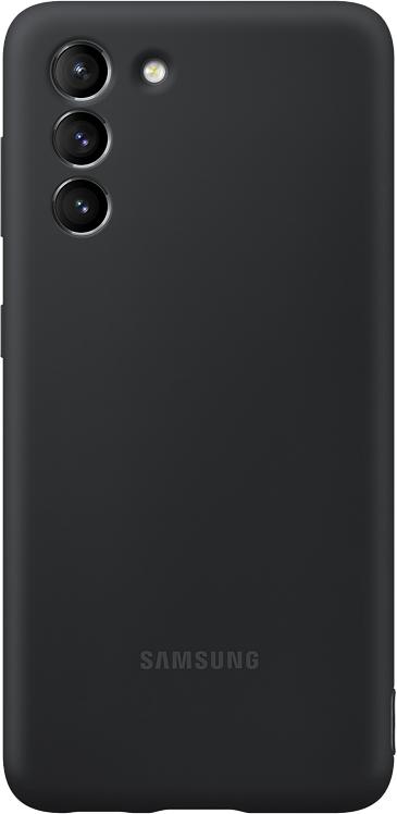 Картинка - Silicone Cover для Galaxy S21 черный