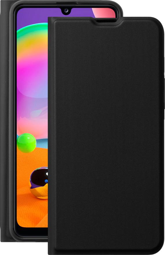 Картинка - Book Cover Silk Pro для Galaxy A32 черный