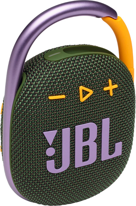 Портативная акустика JBL Clip 4 зеленый