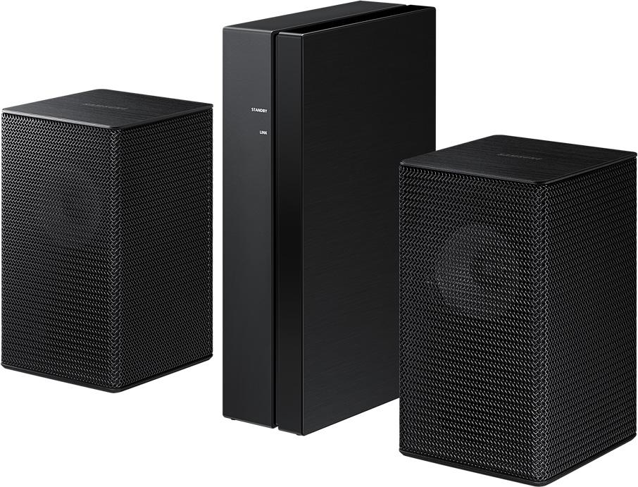 Беспроводная тыловая акустика Samsung SWA-9100S черный