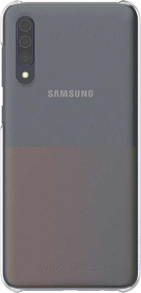 Premium Hard Case для Galaxy A30s прозрачный