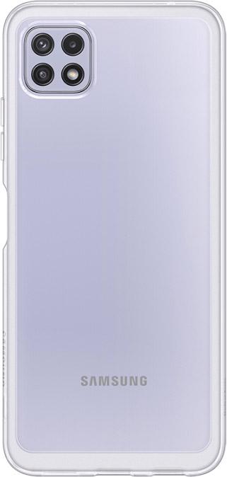 Чехол Samsung Soft Clear Cover для Galaxy A22 прозрачный