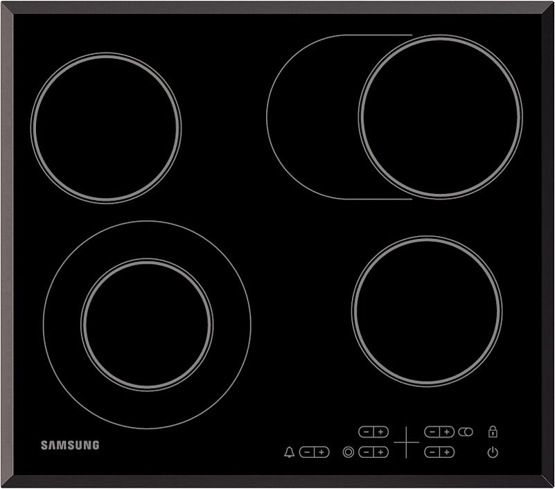 Электрическая варочная поверхность Samsung NZ64T3516QK/WT черный