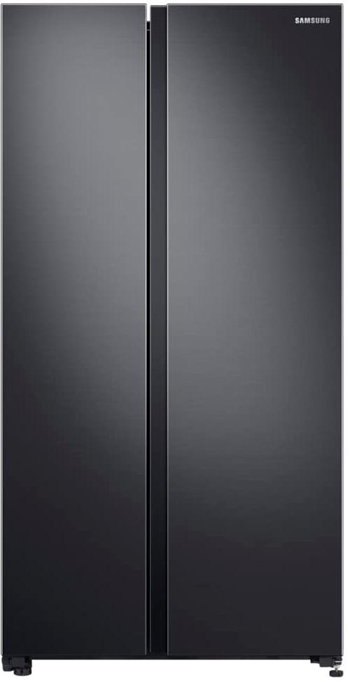 Холодильник Samsung RS62R5031B4/WT, с пластиной охлаждения Metal Cooling, 647 л матовый черный