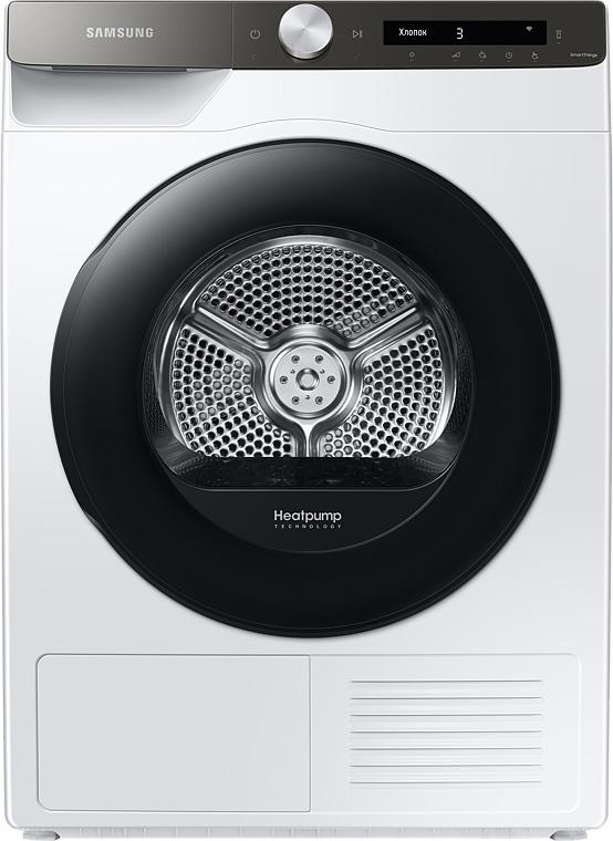 Сушильная машина Samsung DV90T5240AT/LP с интеллектуальной панелью, 9 кг белый