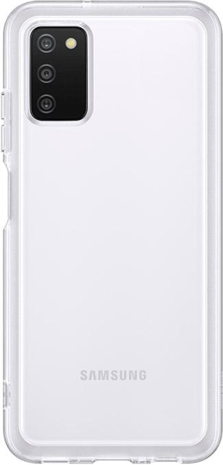 Чехол Samsung Soft Clear Cover для Galaxy A03s прозрачный
