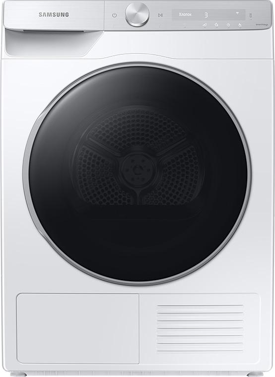 Сушильная машина Samsung DV90T8240SH/LP с интеллектуальной панелью, 9 кг белый