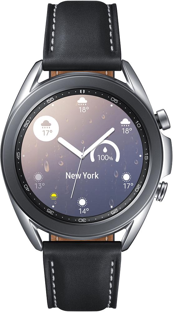 Носимое устройство Samsung Galaxy Watch3, 41 мм серебро