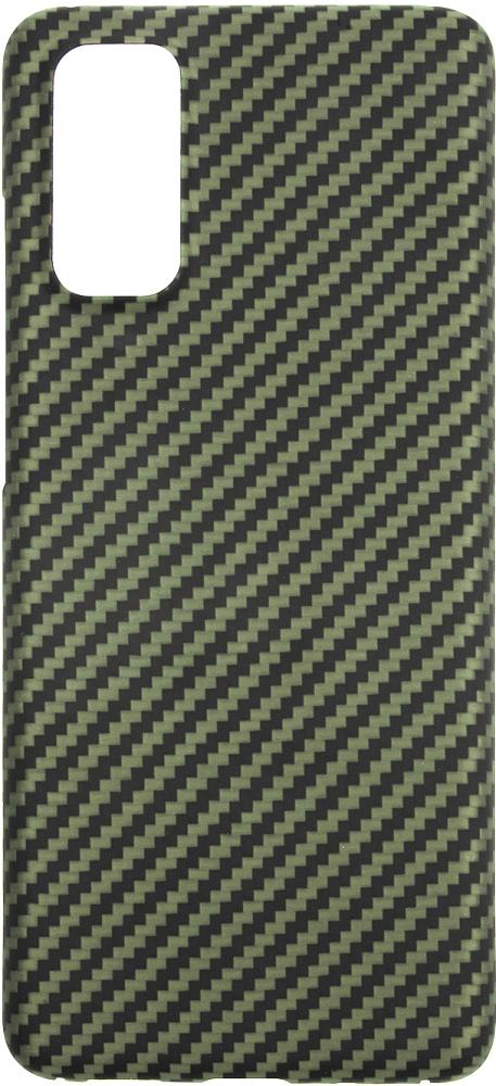 Картинка - для Galaxy S20, карбон зеленый