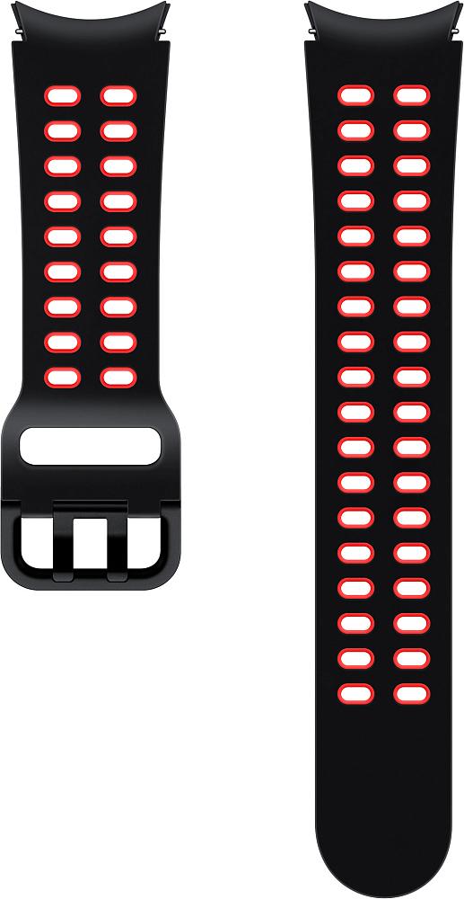 Ремешок Samsung Extreme Sport Band для Galaxy Watch4 | Watch3, 20 мм, M/L черный