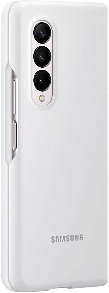 Чехол Samsung Silicone Cover для Galaxy Z Fold3 белый
