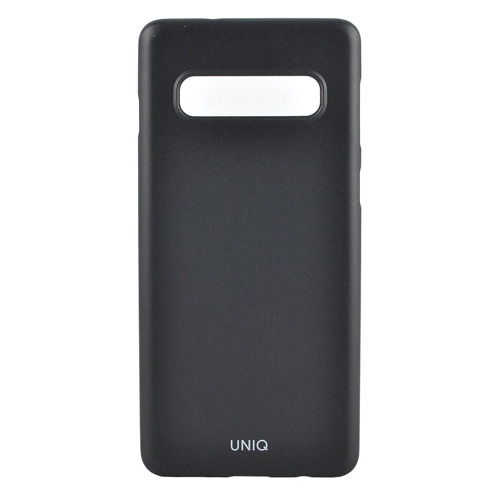 Чехол Uniq Bodycon для Galaxy S10 черный