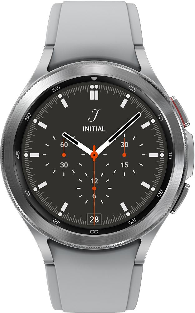 Носимое устройство Samsung Galaxy Watch4 Classic, 46 мм серебро