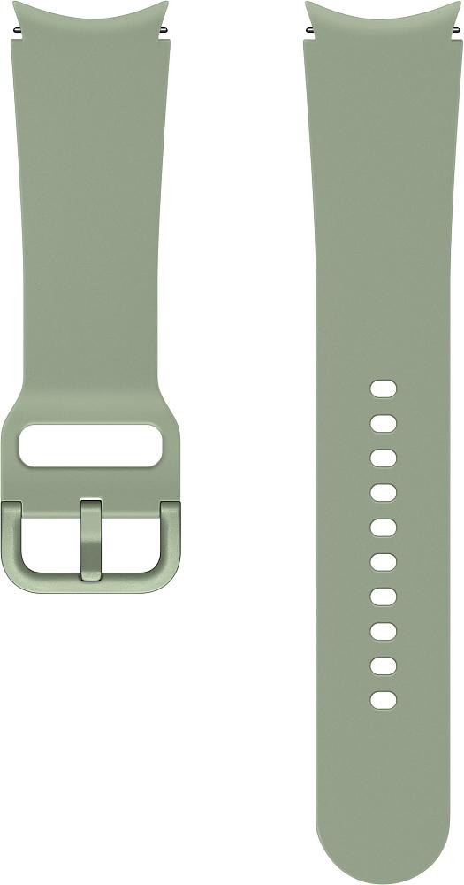 Ремешок Samsung Sport Band для Galaxy Watch4   Watch3, 20 мм, M/L оливковый