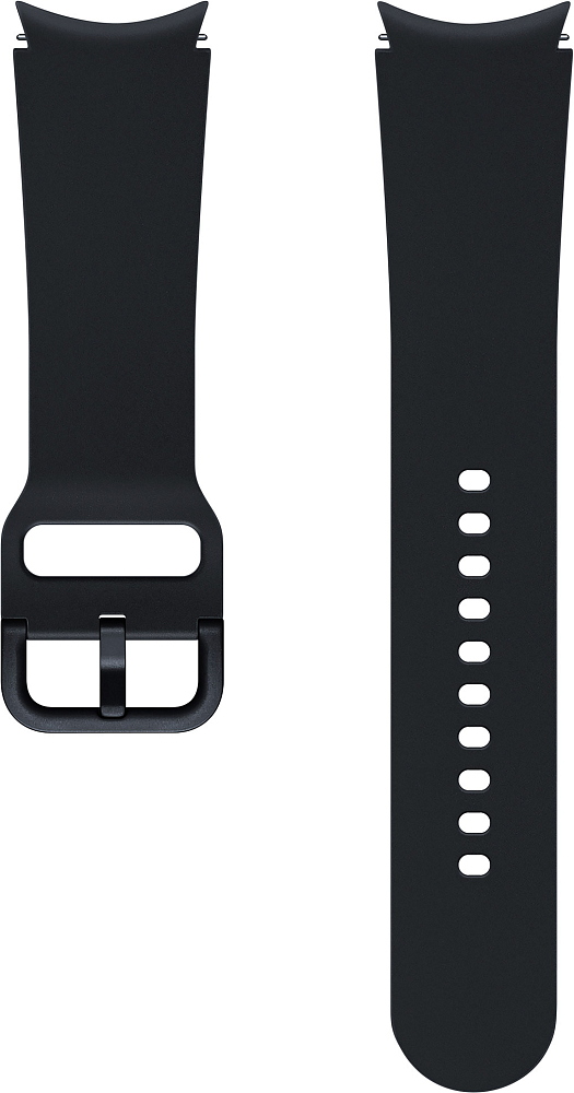 Ремешок Samsung Sport Band для Galaxy Watch4   Watch3, 20 мм, S/M черный