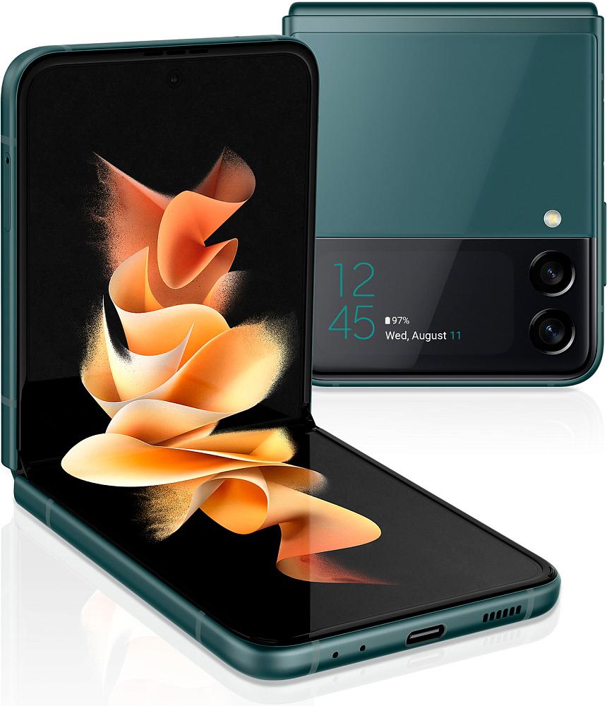 Смартфон Samsung Galaxy Z Flip3 5G 128 ГБ зеленый