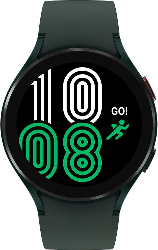 Носимое устройство Samsung Galaxy Watch4, 44 мм оливковый