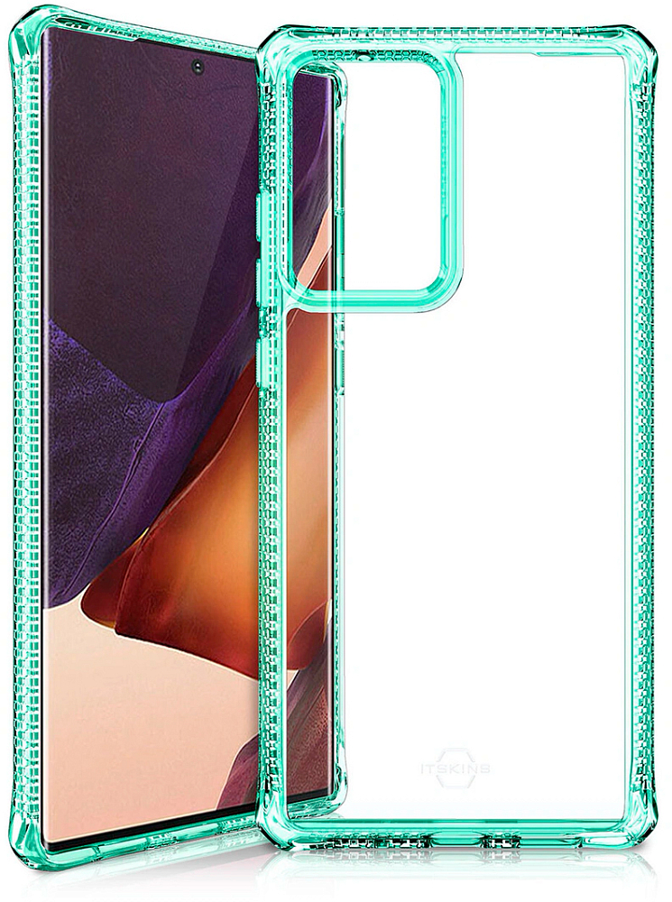 Картинка - HYBRID CLEAR для Galaxy Note20 Ultra мятный