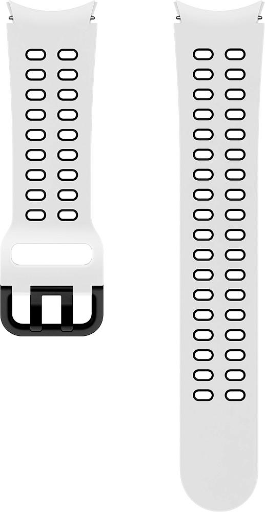 Ремешок Samsung Extreme Sport Band для Galaxy Watch4 | Watch3, 20 мм, M/L белый