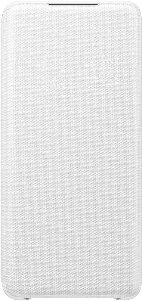 Картинка - Smart LED View Cover Galaxy S20+ белый