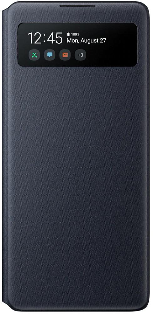 Картинка - S View Wallet Cover для Galaxy S10 lite черный