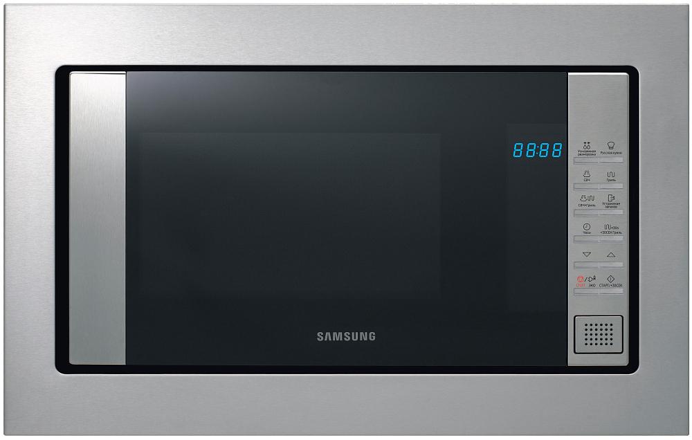 Встраиваемая микроволновая печь Samsung FG87SUT/BW 23 л нержавеющая сталь