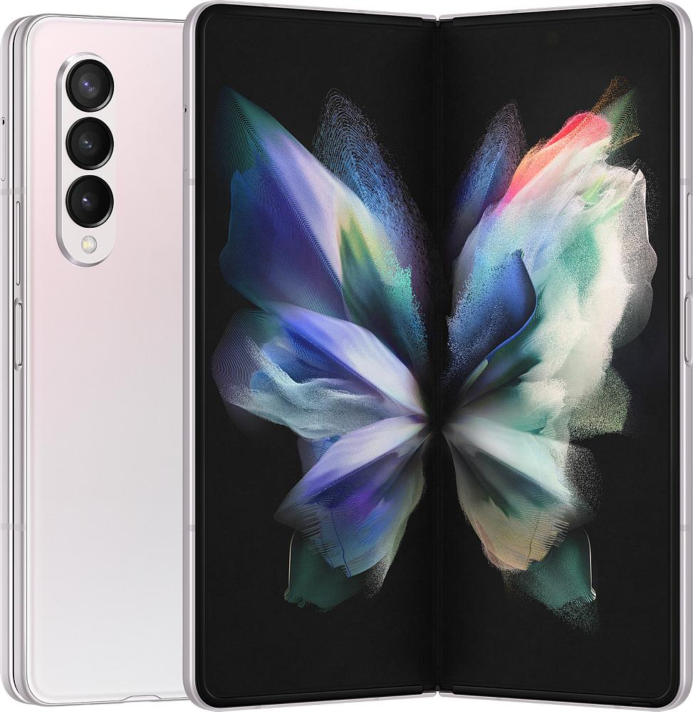 Смартфон Samsung Galaxy Z Fold3 5G 256 ГБ серебристый
