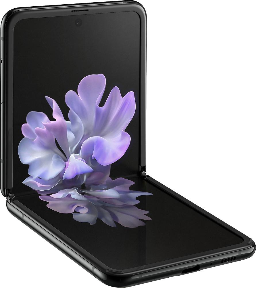 Galaxy ZFlip 256ГБ черный бриллиант