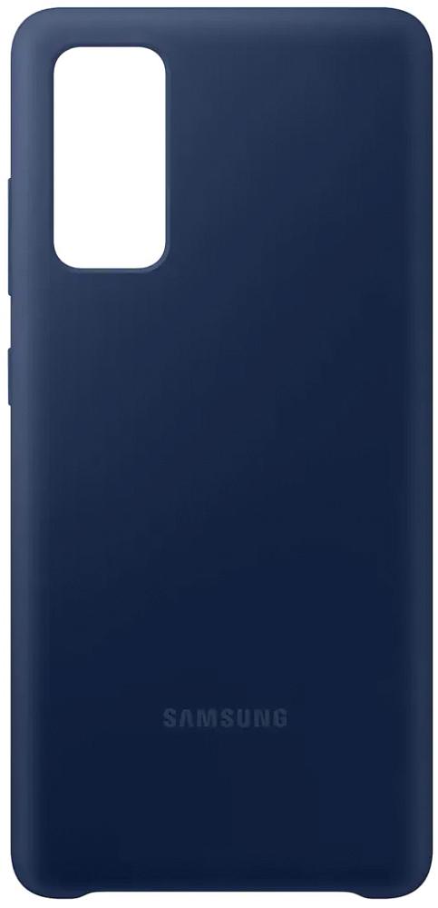 Чехол Samsung Silicone Cover для Galaxy S20 FE темно-синий