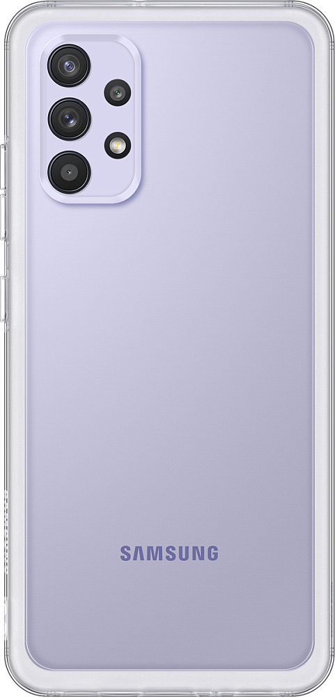 Чехол Samsung Soft Clear Cover для Galaxy A32 прозрачный