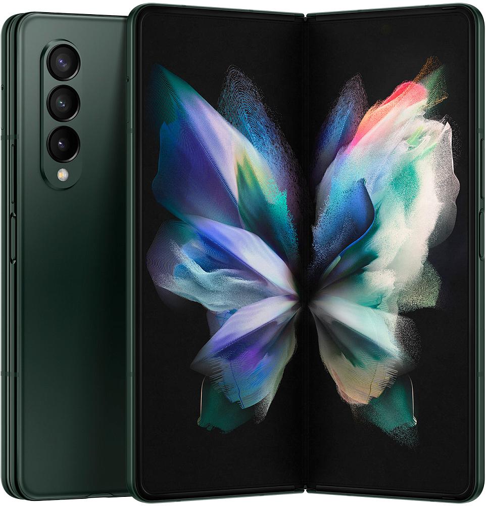 Смартфон Samsung Galaxy Z Fold3 5G 512 ГБ зеленый