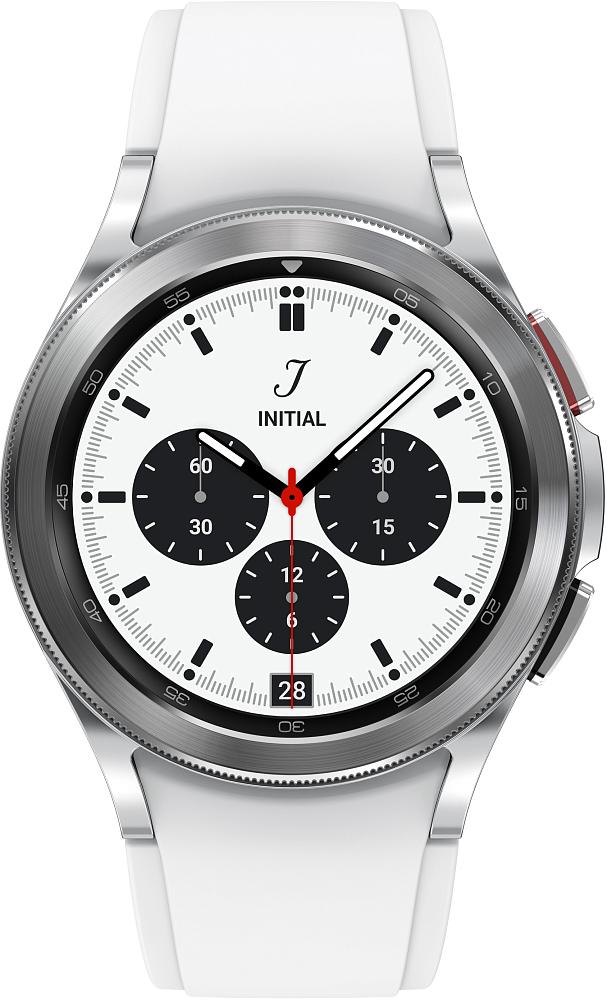 Носимое устройство Samsung Galaxy Watch4 Classic, 42 мм серебро