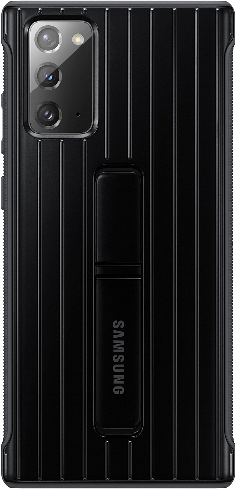 Картинка - Protective Standing Cover для Galaxy Note20 черный